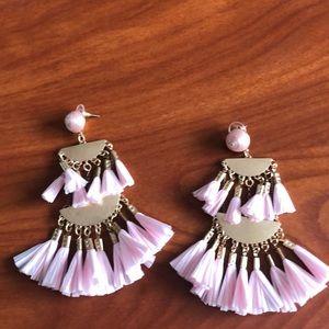 Jewelry - Pink statement earrings
